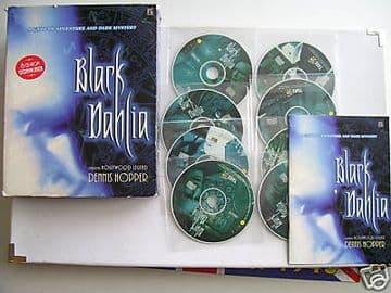 Black Dehlia BIG BOX  EDT  Mega  RARE