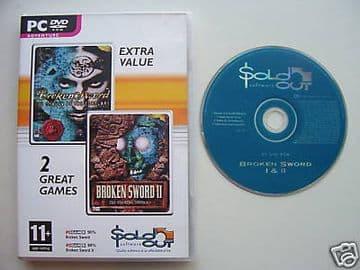 Broken Sword  1 & 2  PC Game