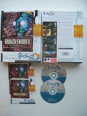 Broken Sword  2 The Smoking Mirrior  PC Big Box Edition