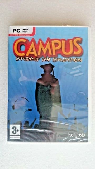 Campus: Student Life Simulation (PC: Windows 2007) - NEW and SEALED