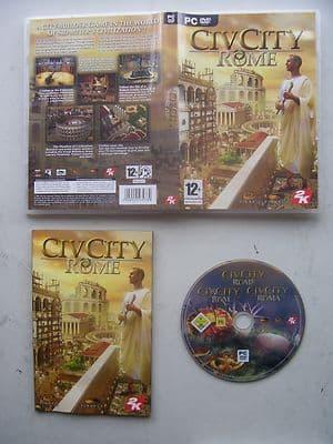 Civ City Rome  PC