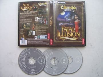 CLUEDO  CHRONICLES FATAL ILLUSION  PC Game