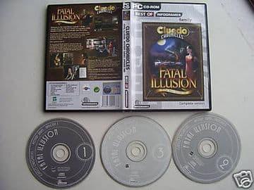 CLUEDO  FATAL ILLUSION  PC Game