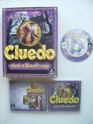 CLUEDO Murder at Blackwell Grange PC Big Box Edition