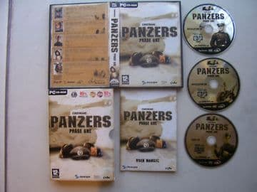 Codename Panzers Phase One  Classic PC game