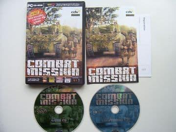 Combat Mission  PC Game  RARE