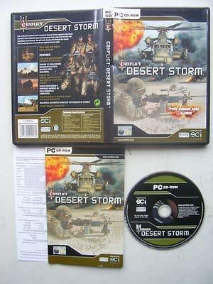 Conflict Desert Storm  PC Original Release