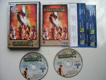 Cultures 2 Gates of Asgard PC Ultra Rare