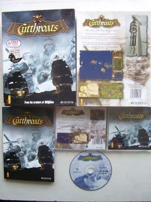 Cutthroats  Classic Pirate PC Big Box Edition