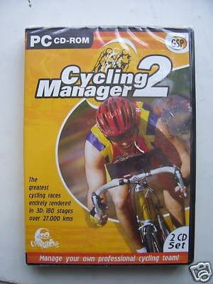 Cycling Manager 2 PC game SEALED