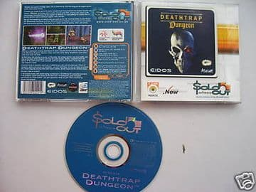 Deathtrap Dungeon PC game..(RARE)