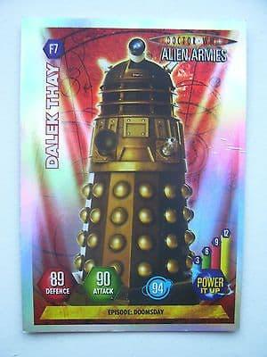 Doctor Who Alien Armies Dalek Thay F7 Card