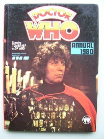 Doctor Who Annual (1980) Tom Baker