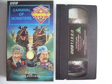 Doctor Who Carnival of Monsters  RARE