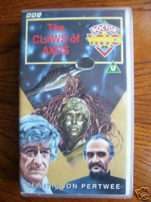 Doctor Who Claws of Axos..RARE