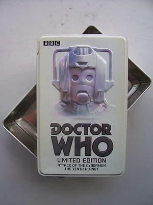 Doctor Who Cybermen  Ltd Edition Tin