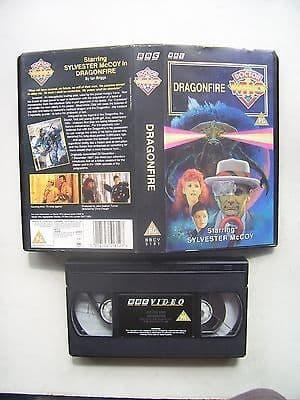 Doctor Who Dragonfire Sylvester McCoy