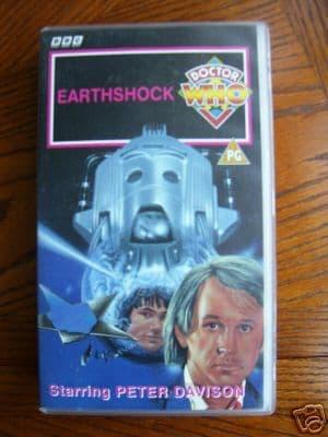Doctor Who Earthshock      RARE