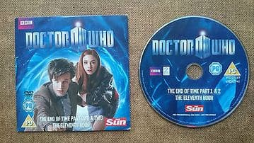 Doctor Who End of Time and Eleventh Hour  DVD Originally Released by The Sun