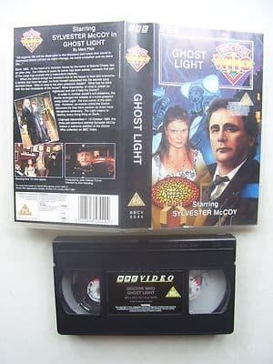 Doctor Who Ghost Light Sylvester McCoy Rare