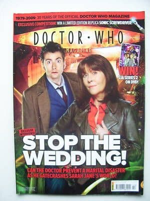 Doctor Who Magazine issue 414 Rare