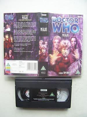 Doctor Who Meglos VHS Tom Baker Rare