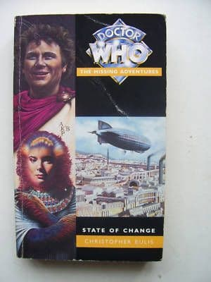 Doctor Who Missing Adventures State of Change RARE