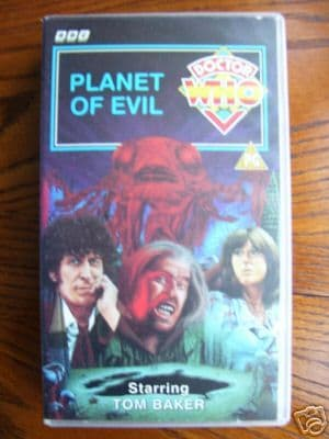 Doctor Who Planet of Evil  ..RARE