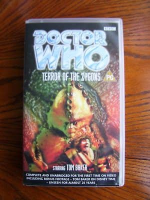 Doctor Who  Terror of the Zygons  Unedited RARE