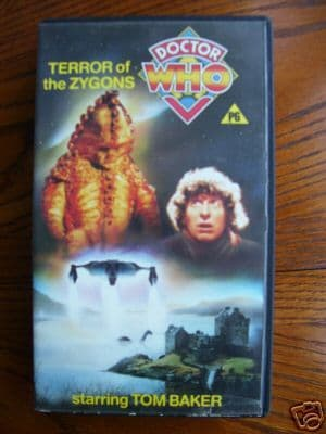 Doctor Who  Terror of the Zygons....RARE