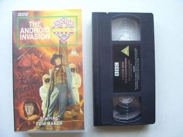 Doctor  Who The Android Invasion Tom Baker
