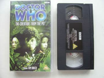 Doctor  Who The Creature from the Pit  Tom Baker