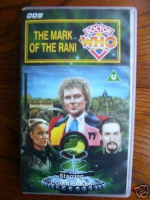 Doctor  Who The Mark of the Rani ...RARE