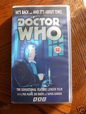 Doctor Who  The Movie ...RARE