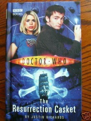 Doctor Who The Resurrection Casket..Hardback