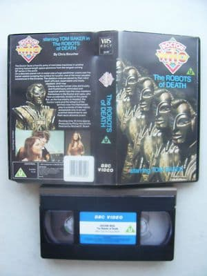 Doctor Who  The Robots of Death   Blue Label VERY RARE