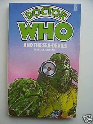Doctor Who The Sea Devils RARE