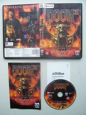 Doom 3 Resurrection of Evil Expansion Pack PC