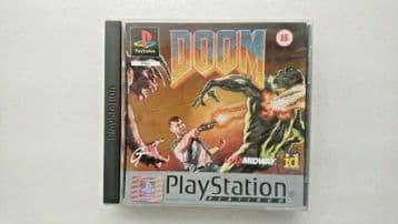 Doom (Sony PlayStation 1, 1995) - European Version
