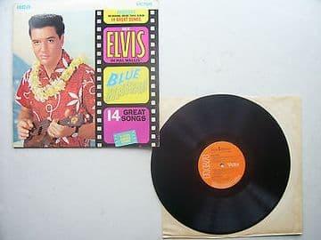 Elvis Presley Blue Hawaii Original 1970s Pressing Including Sleeve