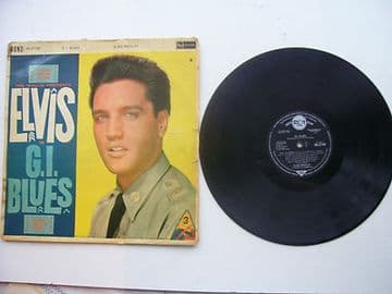 Elvis Presley G I Blues Original 1960 Pressing Including Sleeve