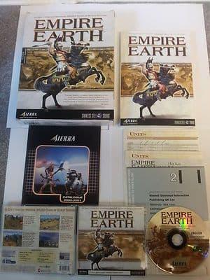 Empire Earth PC Big Box Edition RARE