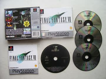 Final Fantasy  7  PS1 / 2  RARE