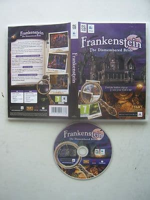Frankenstein The Dismembered Bride  Hidden Object PC Game
