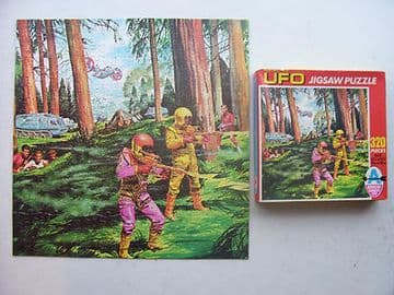 Gerry Anderson's UFO 320 Piece Jigsaw by Arrow 1970 RARE