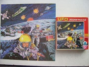 Gerry Anderson's UFO 320 Piece Jigsaw by Arrow 1970 VERY RARE