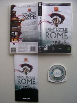 Great Battles of Rome PSP Game