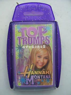 Hannah Montana..Top Trumps Specials..