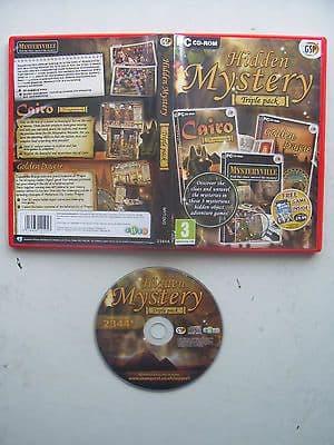 Hidden Mystery  Triple Pack  Hidden Object PC Games