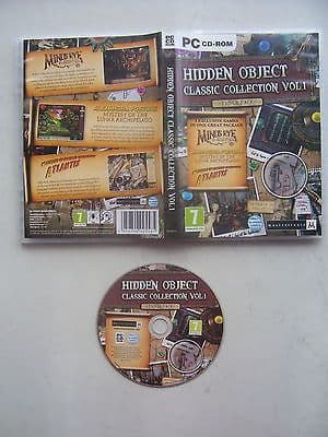 Hidden Object Classic Collection Vol 1 PC Games